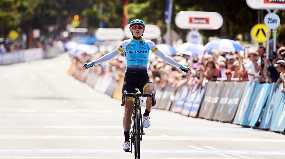 Велогонщица Astana Women's Team завоевала «бронзу» в Калифорнии