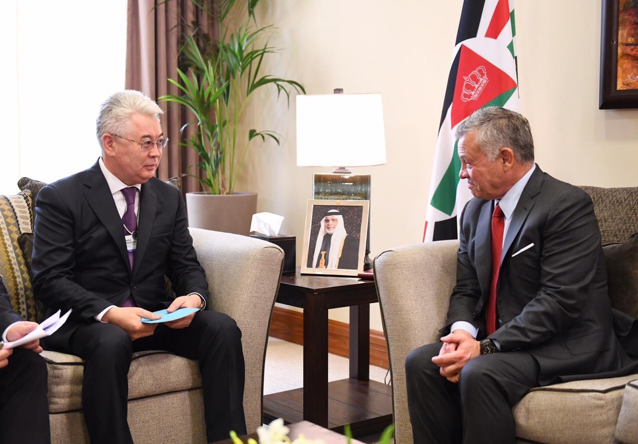 Казахстан принял участие во Всемирном экономическом форуме в Иордании
