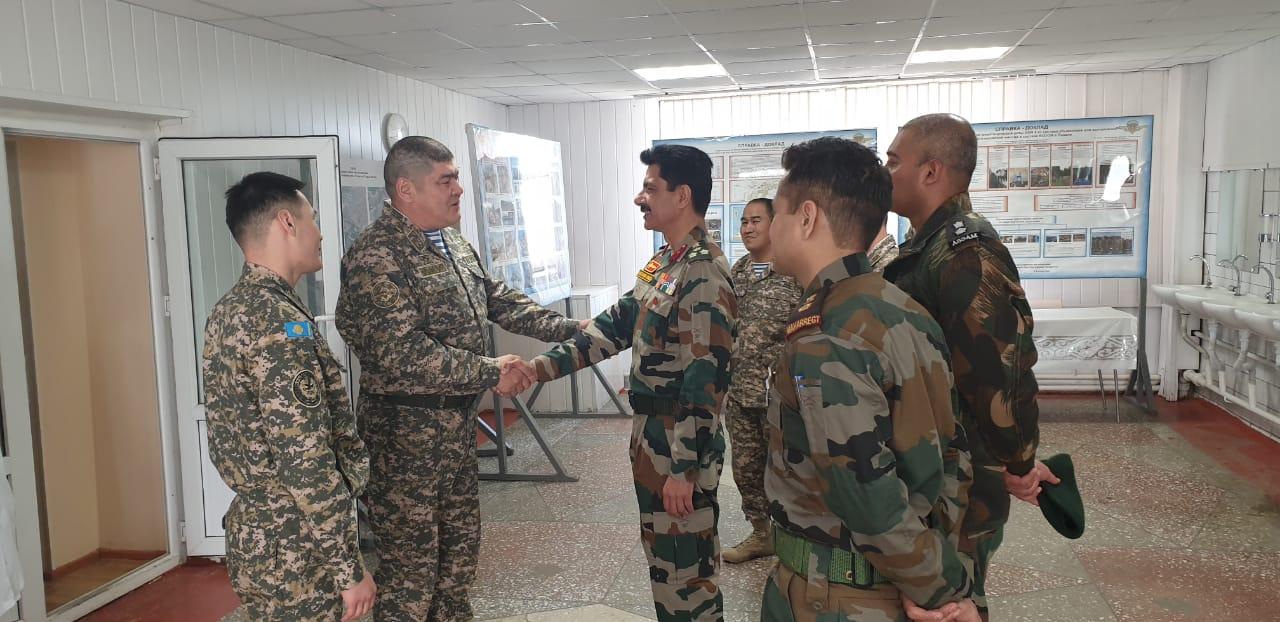 Готовность казахстанских миротворцев к отправке в Ливан проверяет международная инспекционная группа
