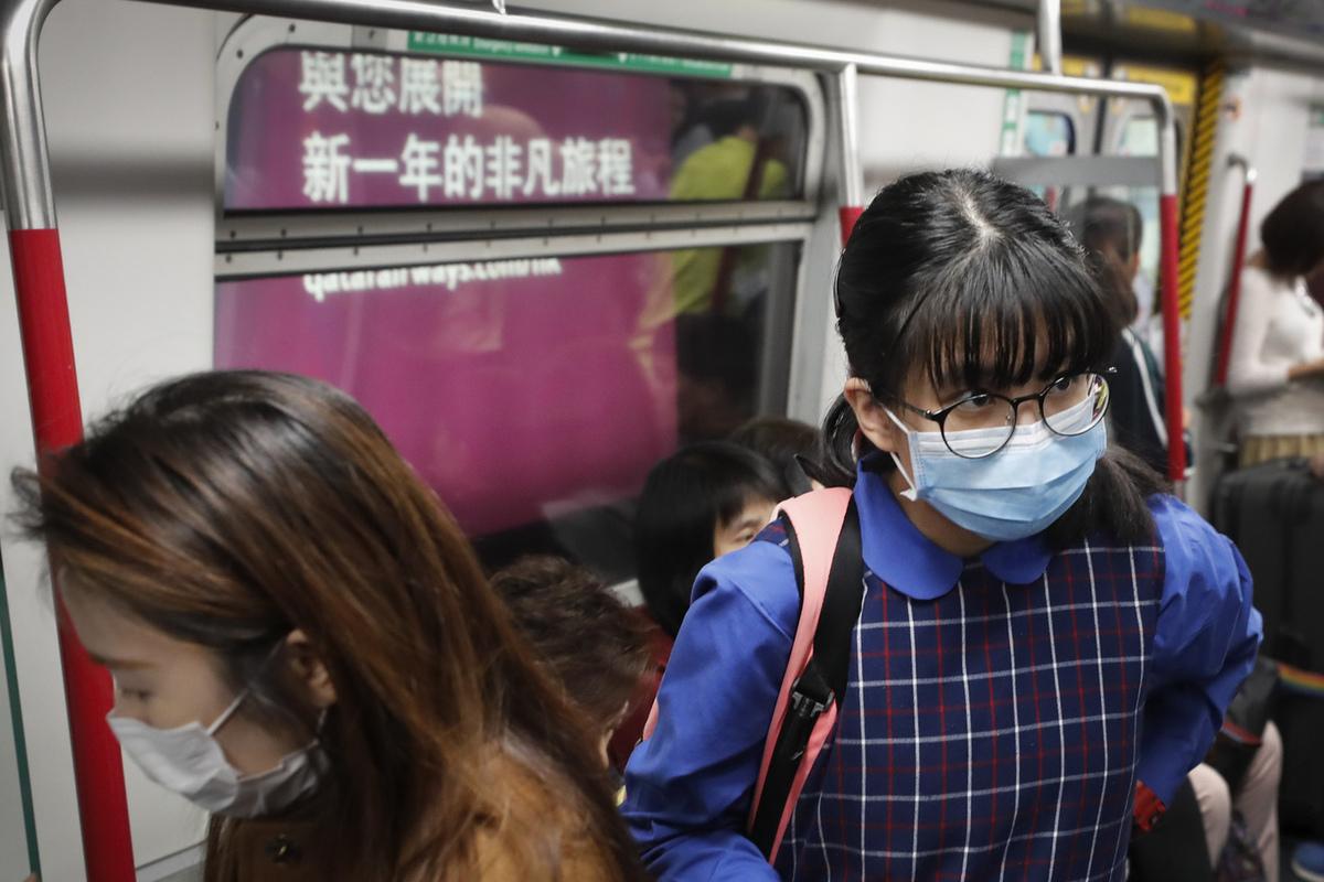 500 пассажиров из Китая проверили на наличие атипичной пневмонии