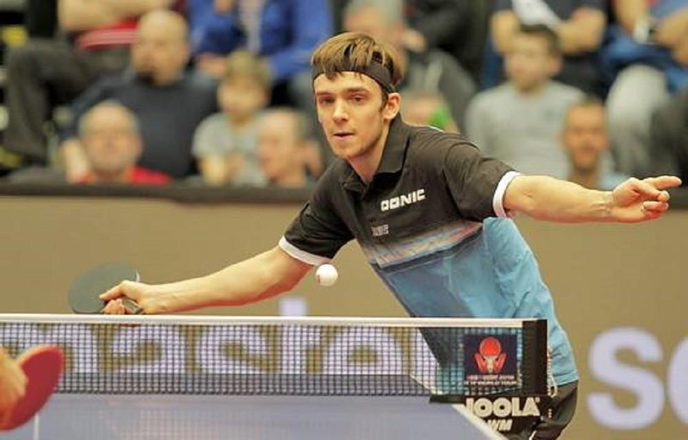 Кирилл Герасименко уступил чемпиону мира по настольному теннису