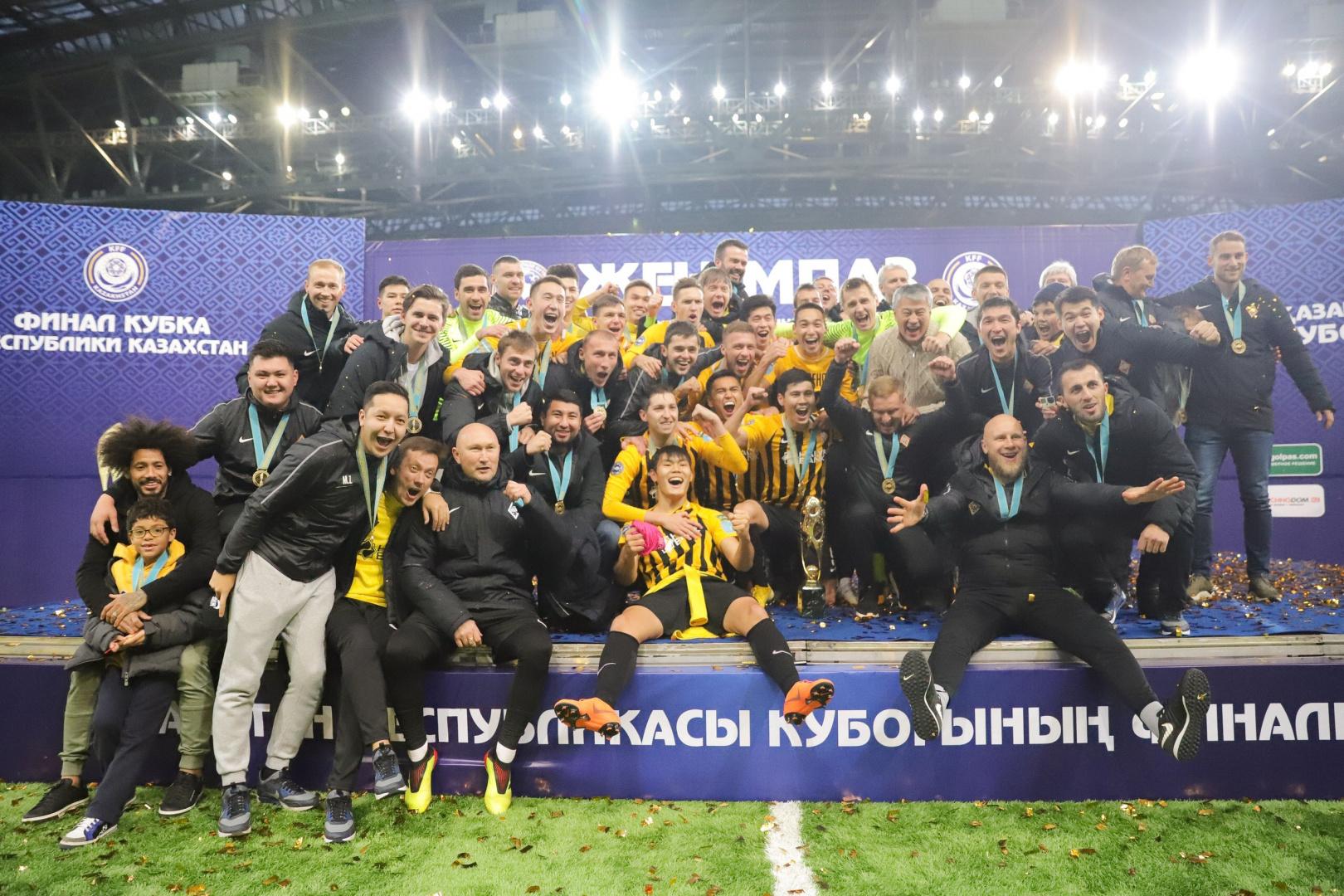 КФФ «закрыла сезон» и поздравила «Кайрат» с победой