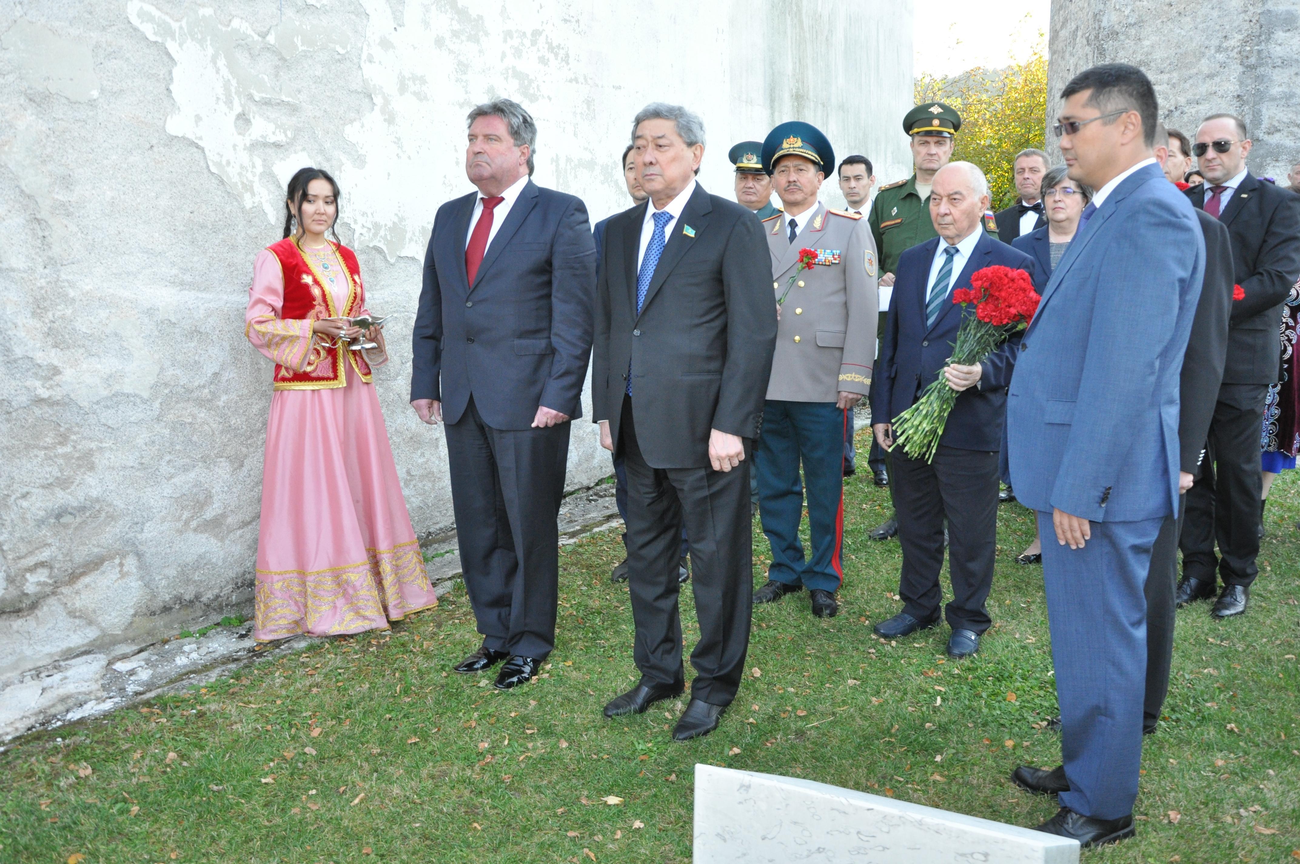 В Словении почтили память казахстанского героя, погибшего в годы ВОВ