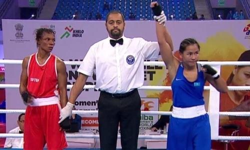 Жайна Шекербекова дважды победила на ЧМ-2018 по боксу в Индии