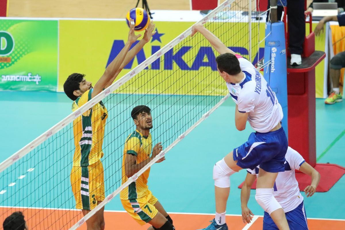 Казахстанские волейболисты не прошли в полуфинал ЧА в Мьянме