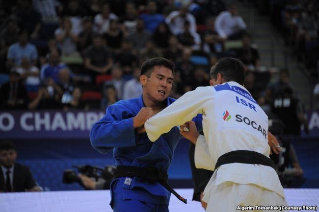 Ерлан Серикжанов завоевал бронзовую медаль на Гран-при по дзюдо в Марокко