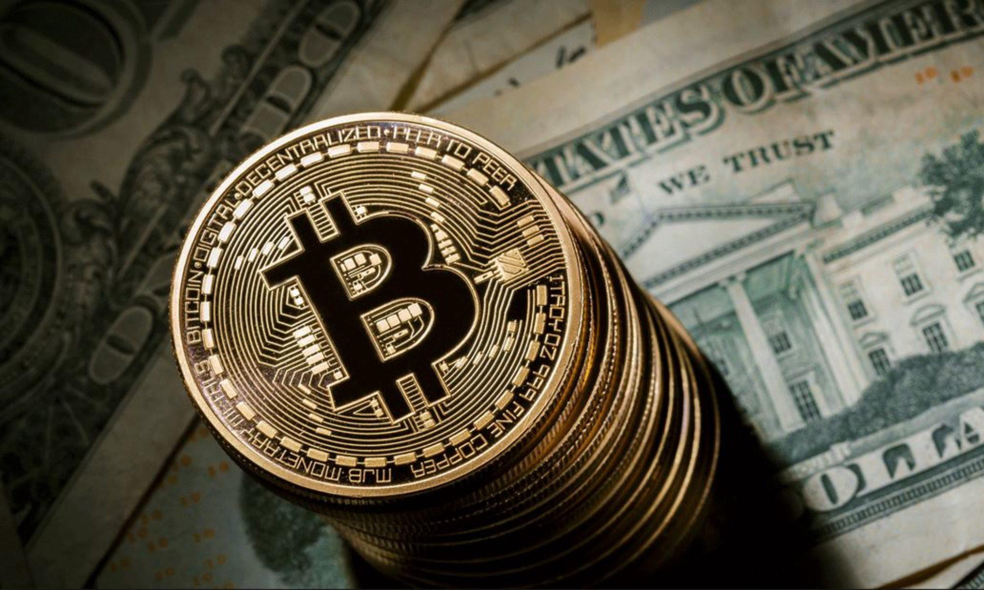 Цена биткоина упала до $4,3 тысячи