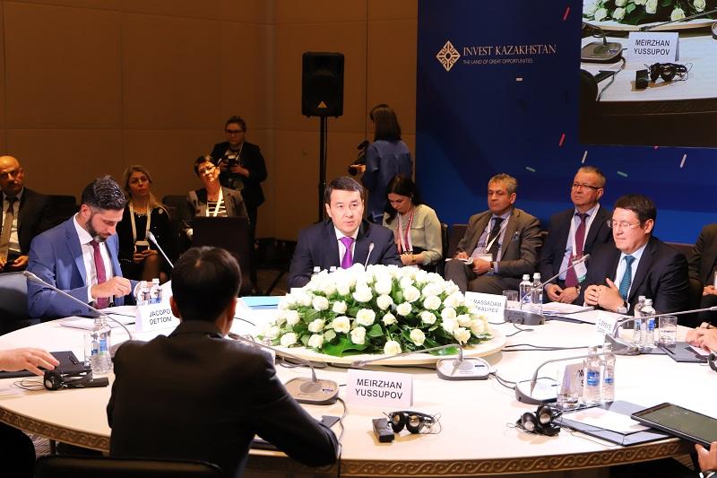 Алихан Смаилов пригласил инвесторов и иностранных партнеров принять участие в приватизации в Казахстане