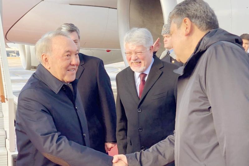 Қазақстанның Тұңғыш Президенті Ресейге барды