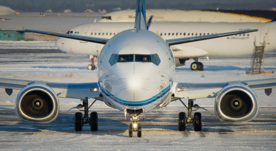 Алматинский аэропорт выводят из тумана
