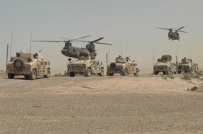 Военные США уйдут с пяти баз в Афганистане в течение 135 дней