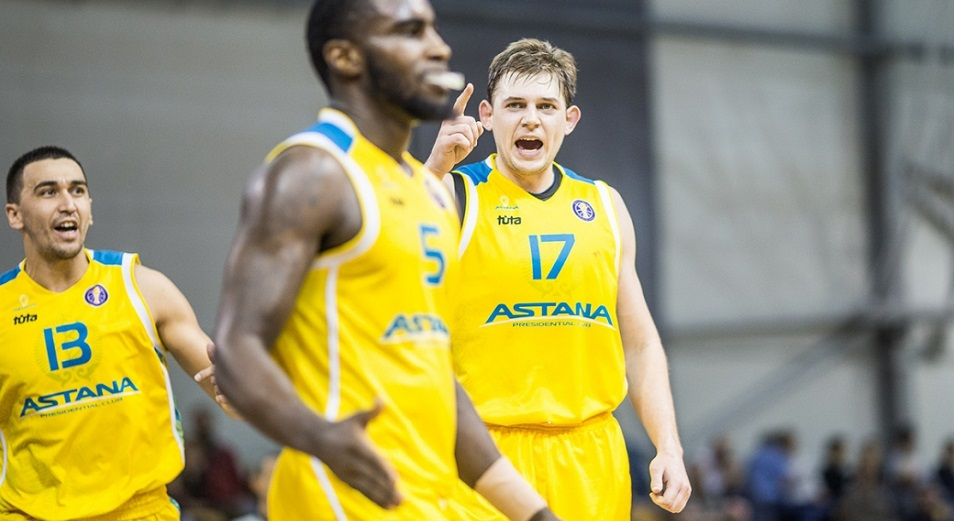 Единая лига ВТБ: «Астана» откатилась на шестое место