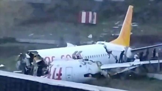 Два казахстанца, пострадавшие при жесткой посадке самолета в Стамбуле, выписаны из клиники