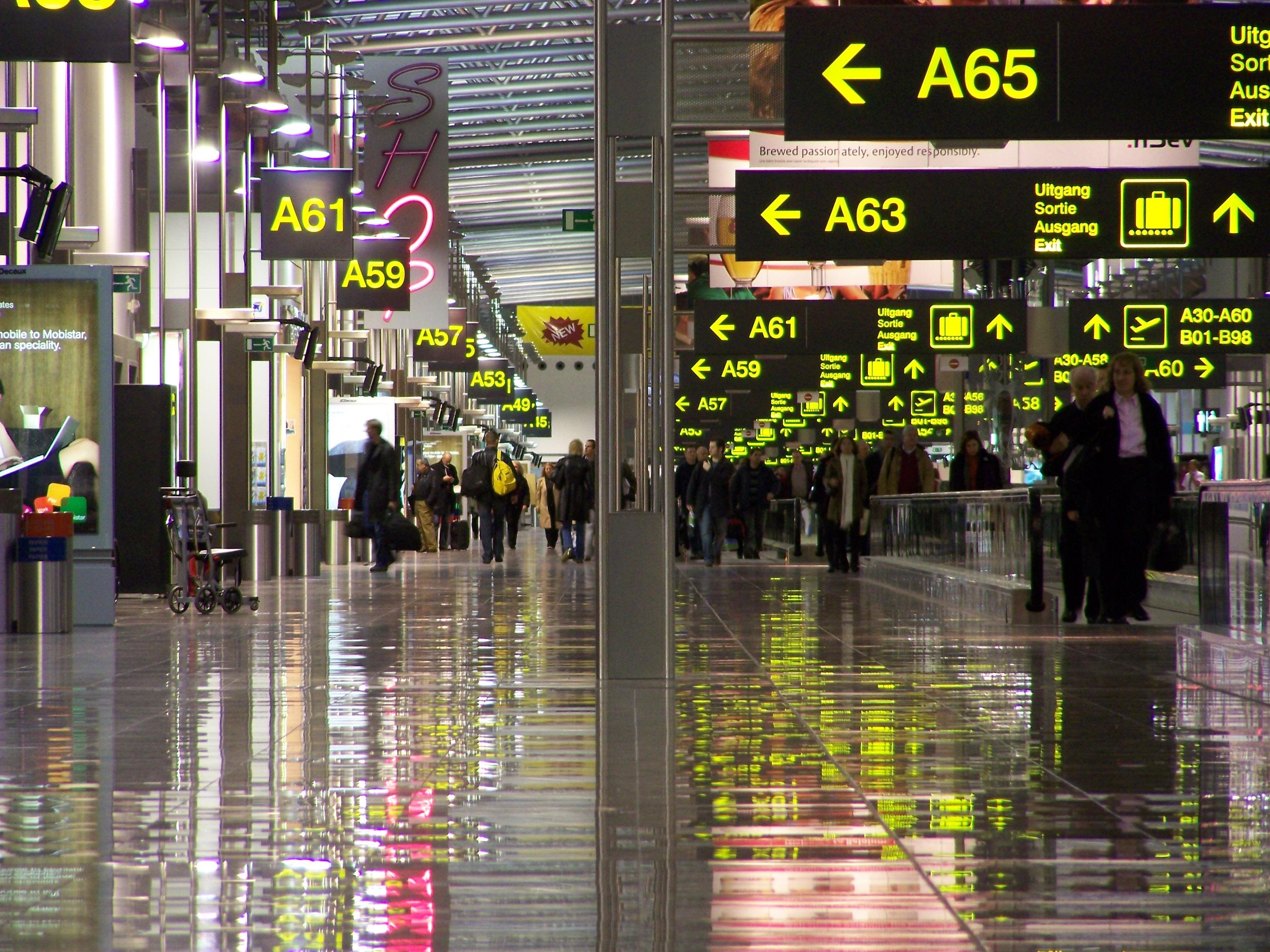 Все аэропорты Бельгии закрыты на сутки из-за забастовки