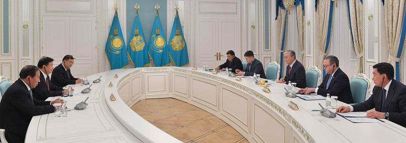 Касым-Жомарт Токаев поставил перед руководством CNPC задачу повышения заработной платы казахстанцам