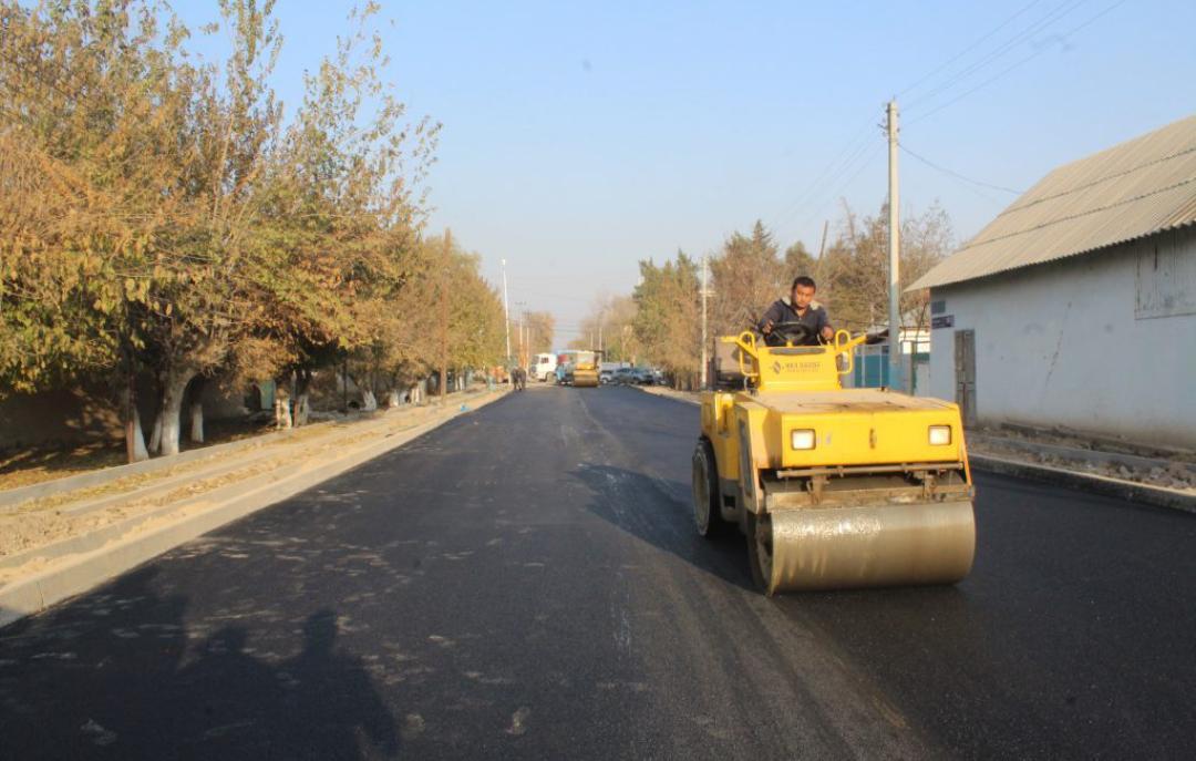 Туркестан: в этом году в Келесском районе будут отремонтированы дороги 33 местных улиц