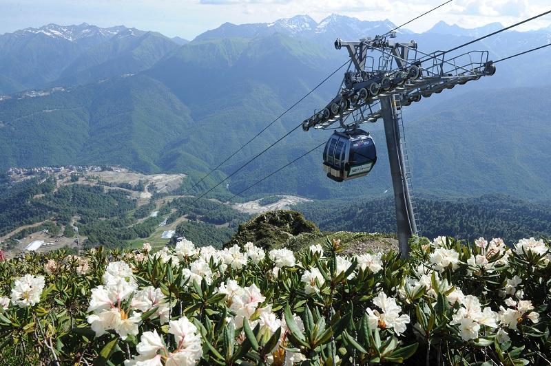 Дни Шымбулака пройдут на крупнейшем горнолыжном курорте России
