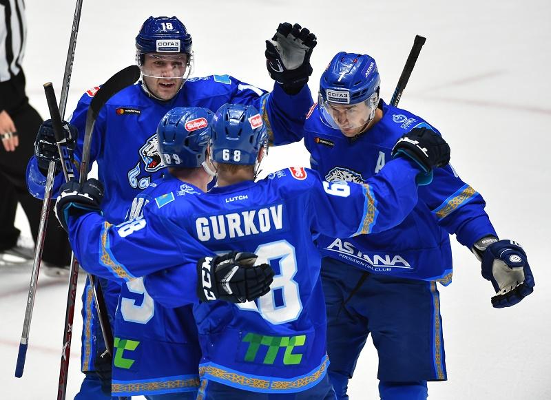 «Барыс» нанес минскому «Динамо» девятое поражение подряд