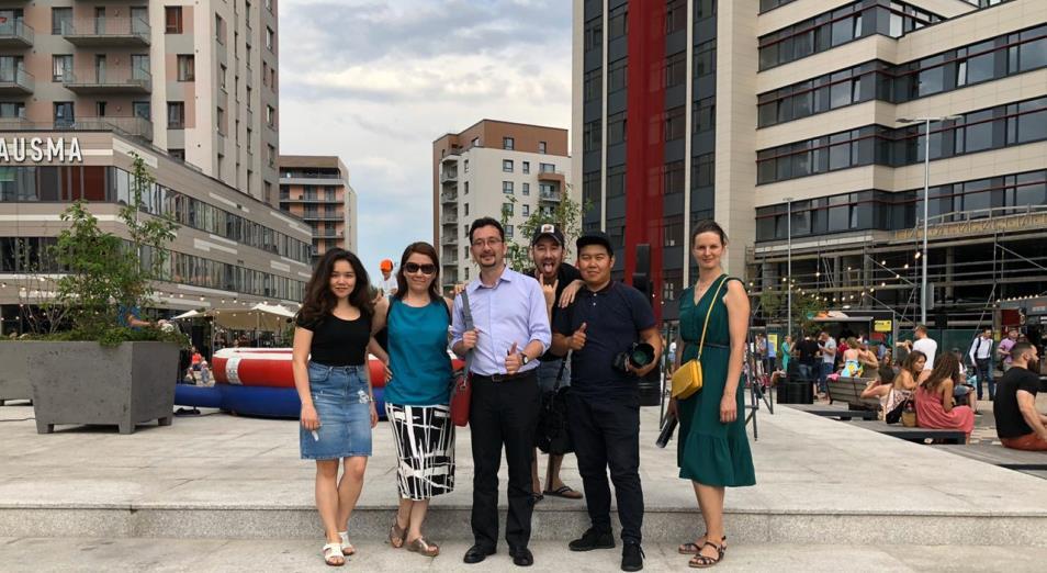В Казахстане сняли документальный фильм о Латвии