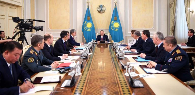 Прошло заседание Совета безопасности под председательством Первого Президента Республики Казахстан