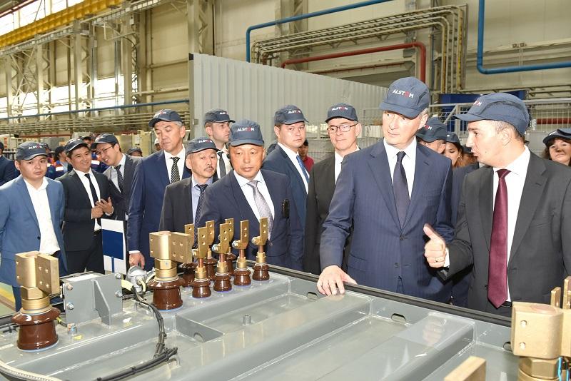 """Alstom и """"КТЖ"""" договорились о сотрудничестве в области развития цифровых технологий"""