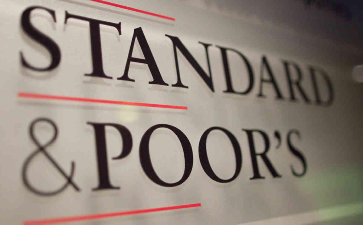 """S&P подтвердило рейтинги Bank RBK на уровне """"В-/В"""""""