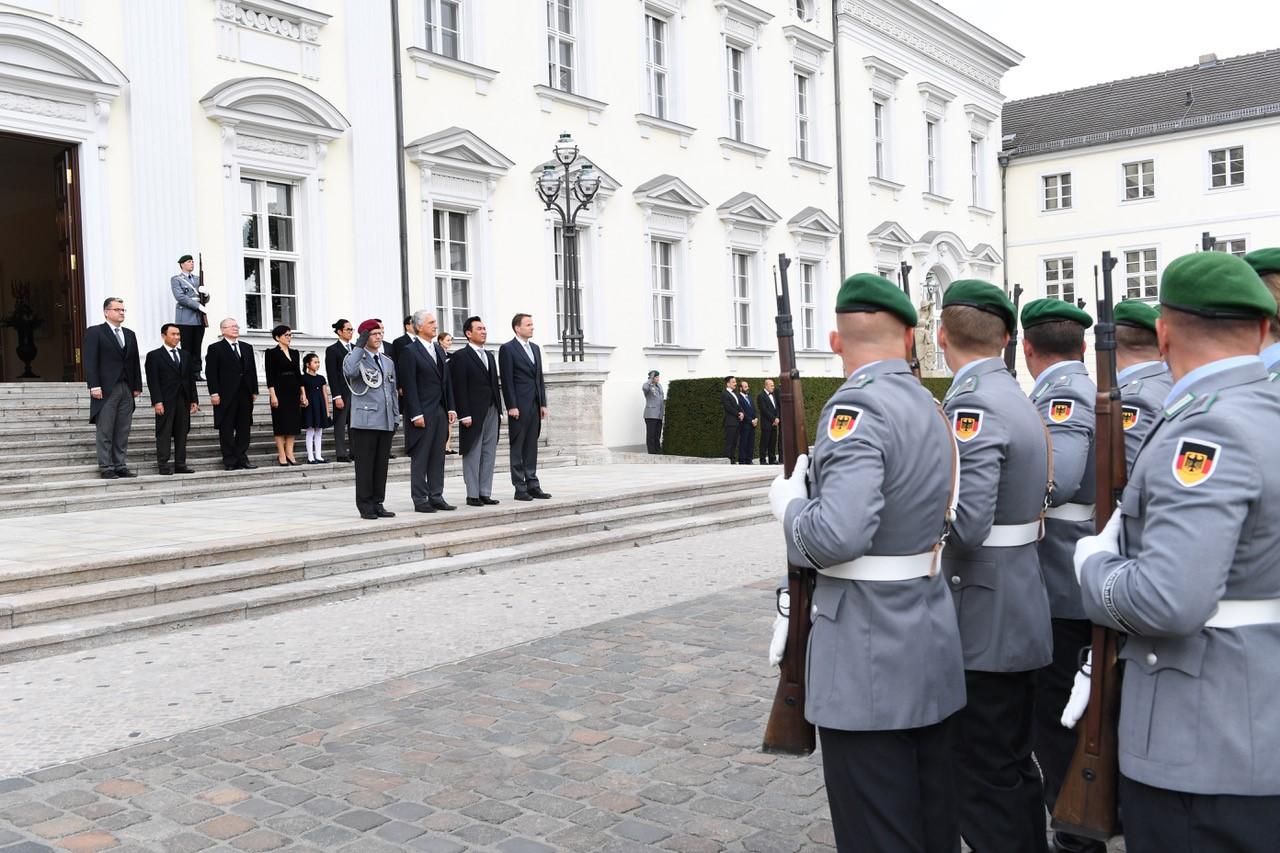 Посол Казахстана вручил федеральному президенту Германии верительные грамоты