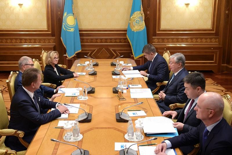 Глава государства встретился с председателем наблюдательного совета компании Polpharma Ежи Стараком