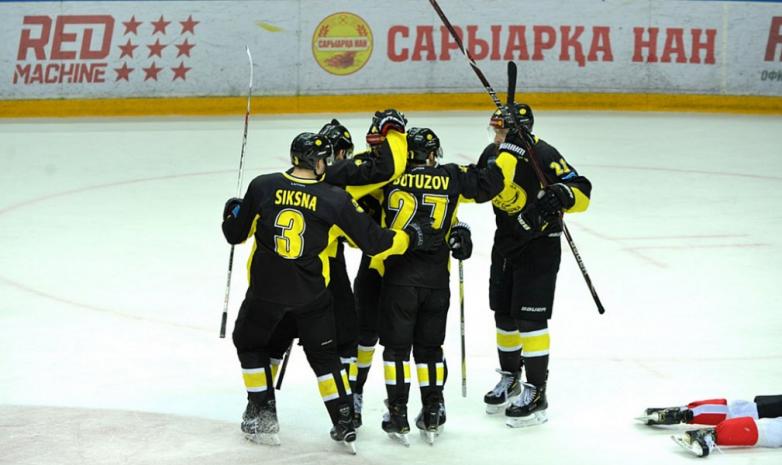 Хоккеисты ХК «Сарыарка» стали победителями ВХЛ