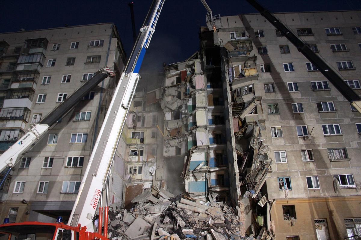 В Магнитогорске число погибших при обрушении дома увеличилось до 24 человек