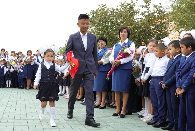 Школы Арыси полностью восстановлены
