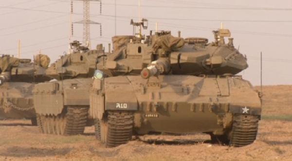 Израиль Газаға ондаған танк жіберді