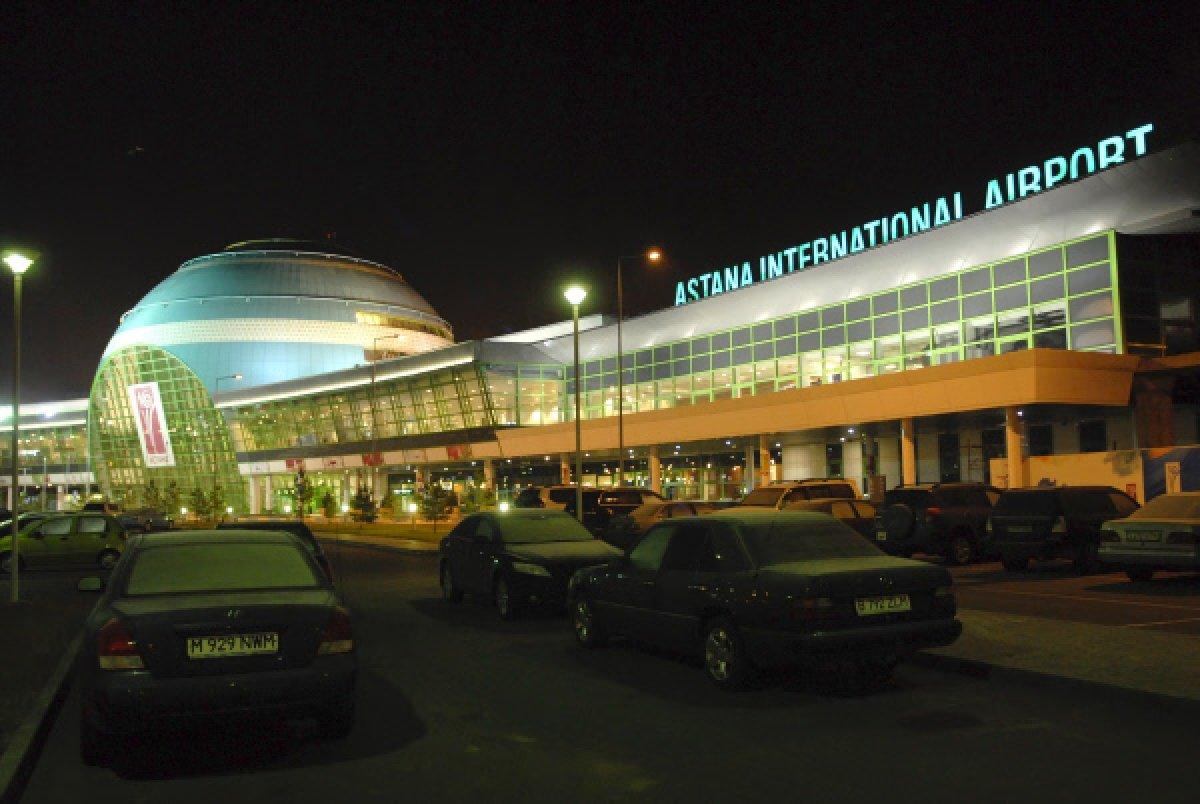 В аэропорту Астаны усилили санитарный контроль