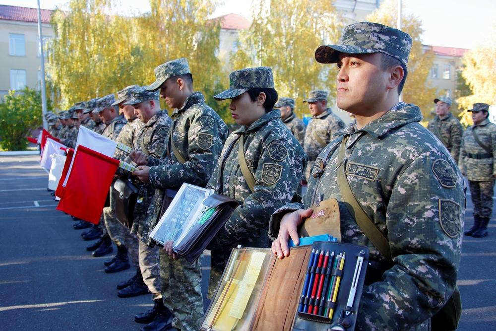 В Вооружённых силах Казахстана продолжается итоговая проверка