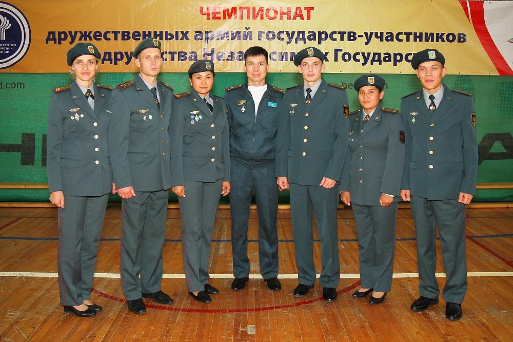 Военнослужащие РК стали призерами чемпионата дружественных армий государств – участников СНГ