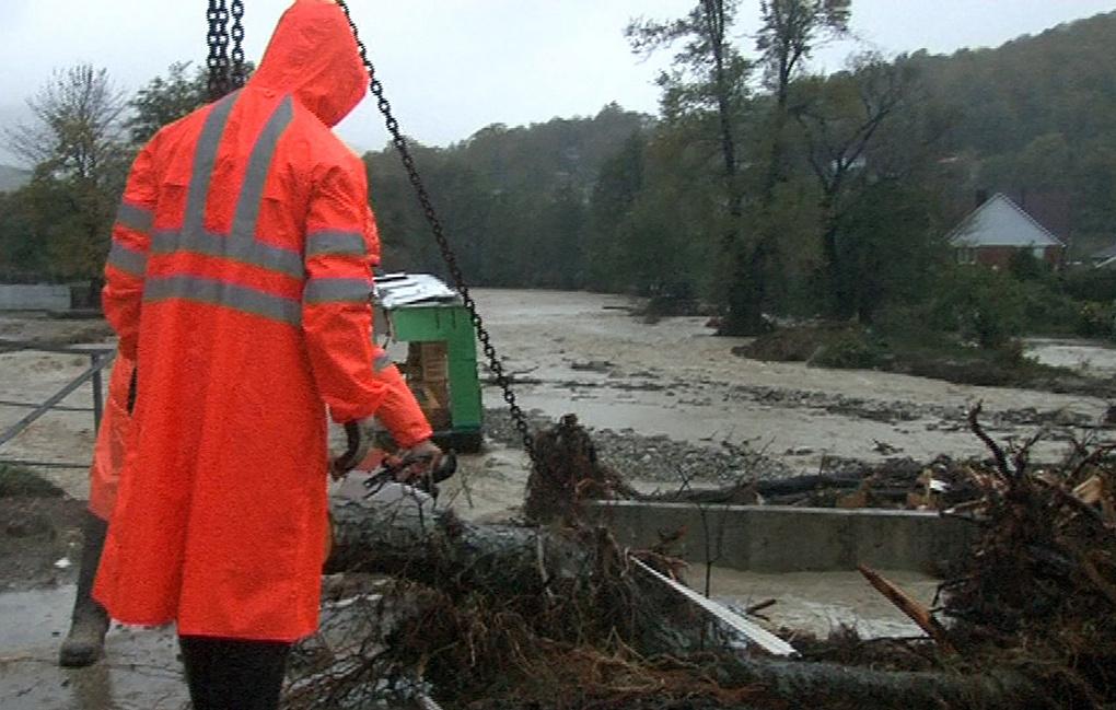 На Кубани погибли шесть человек в результате паводков