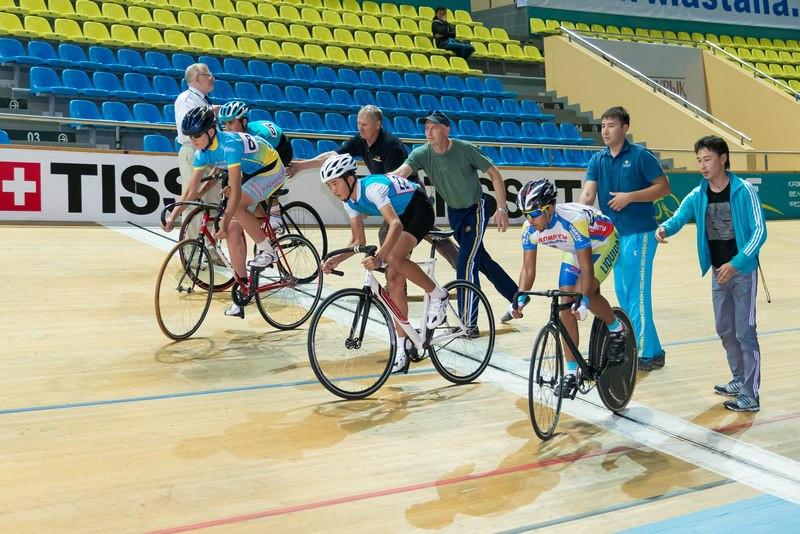 Команда РК завоевала ещё три медали на чемпионате Азии по велотреку