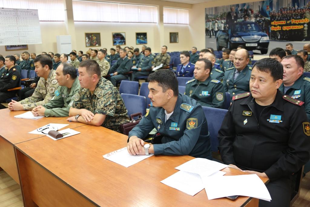 В Вооружённых силах Казахстана активно проводится работа по вопросам противодействия коррупции