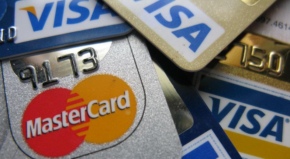 Visa мен MasterCard транзакциядан табыс табады