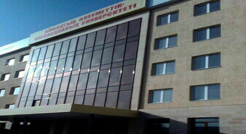 Есірткі табылған университет басшылығы жауапкершіліктен қашуда