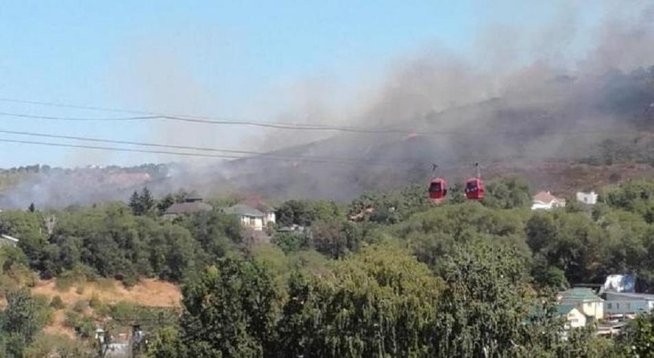 Алматының басынан өрт кетпей тұр (Видео)