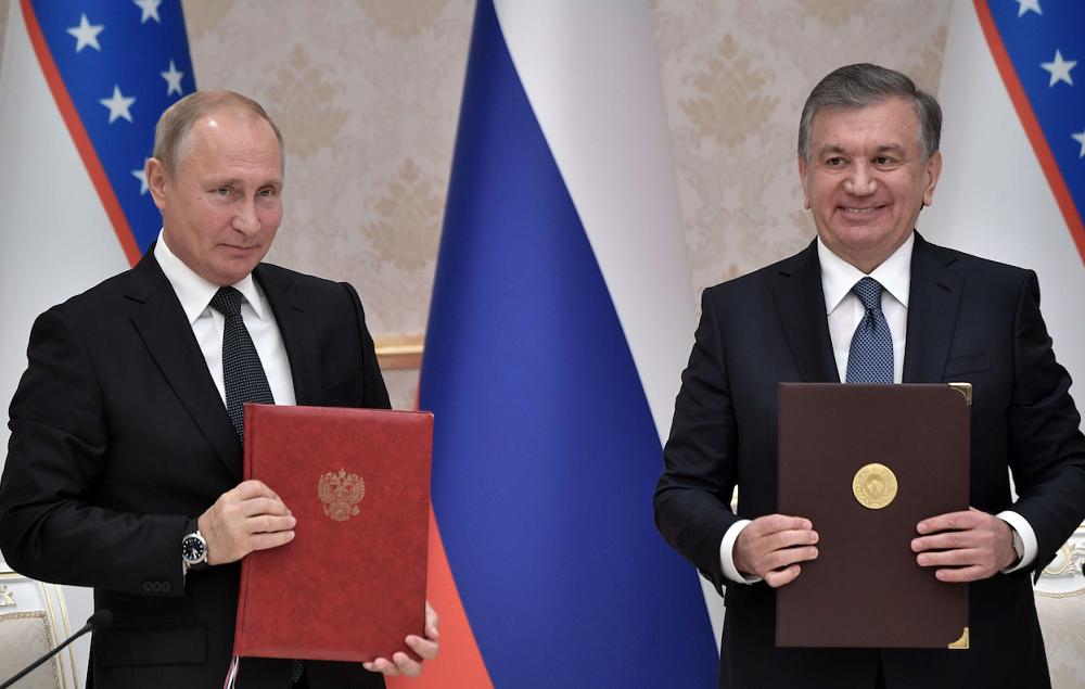 Путин и Мирзиёев запустили в Узбекистане проект по строительству АЭС