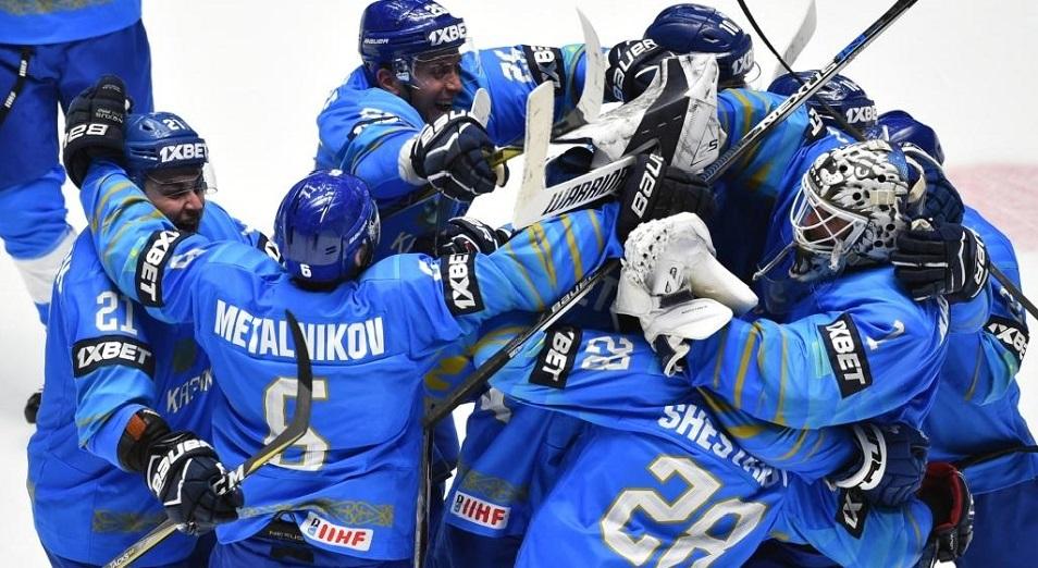ЧМ-2019 по хоккею: Казахстан едет в Швейцарию с пятью победами
