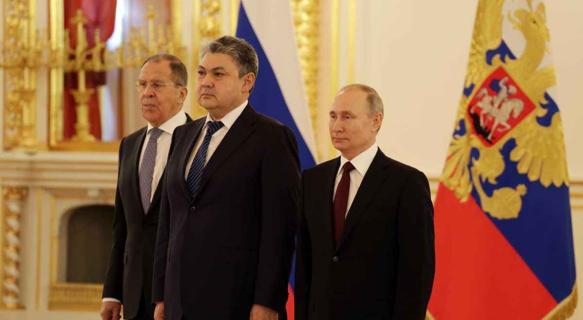 Путин высоко оценил достигнутый уровень доверия и взаимодействия с руководством Казахстана