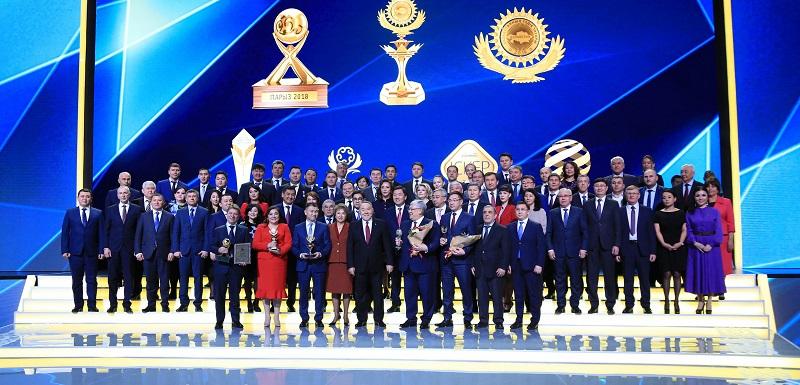 Победители конкурса «Алтын сапа» получили награды из рук президента РК