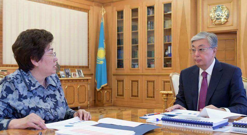 Президенту Казахстана доложили о решении проблем в сфере образования