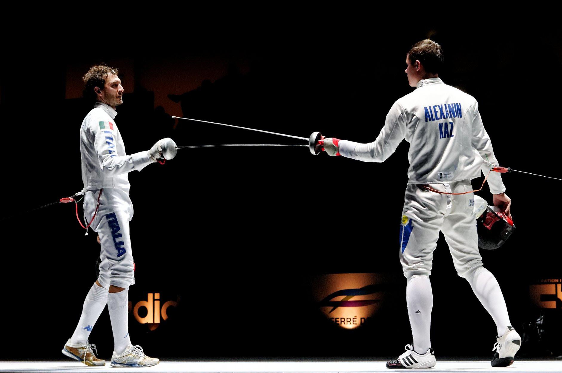 Этап Кубка мира по фехтованию: 13-е место заняла мужская команда