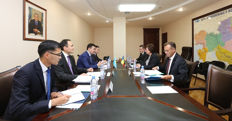 Товарооборот между Казахстаном и Румынией за семь месяцев превысил $1 млрд