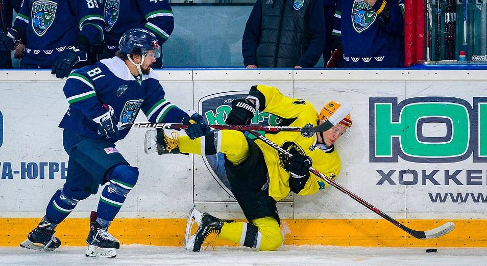 Плей-офф ВХЛ: «Сарыарка» в одной победе от четвертьфинала Кубка Петрова
