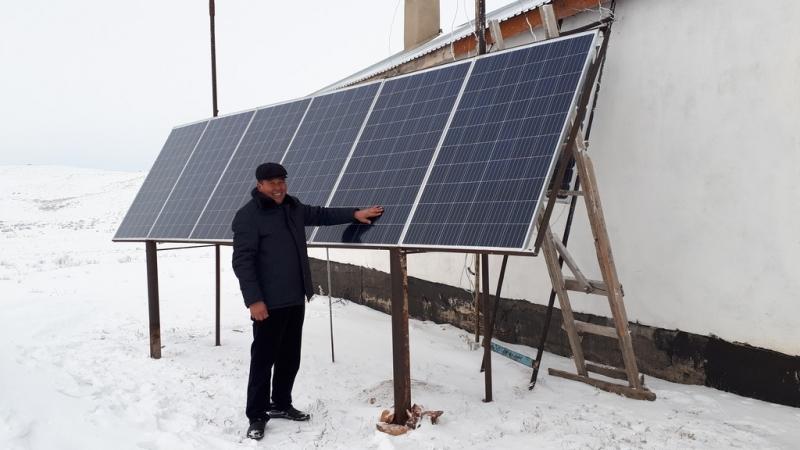 Фермеры Карагандинской области решают проблемы с электричеством с помощью ВИЭ
